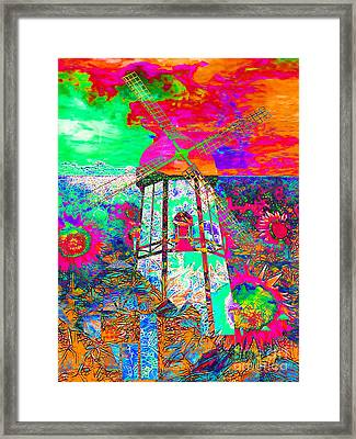 The Pastoral Dreamscape 20130730p95 Framed Print by Wingsdomain Art and Photography