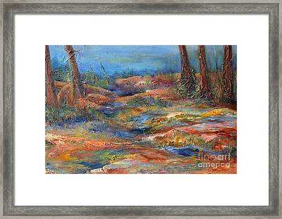 The Path 1 Framed Print