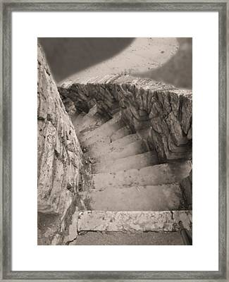 Castle Stairs Framed Print by Don Spenner