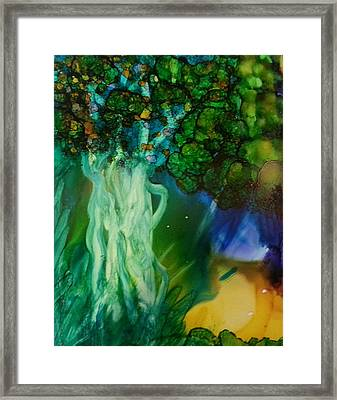 The Path Less Travelled Framed Print