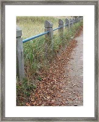The Path Framed Print by Margaret McDermott
