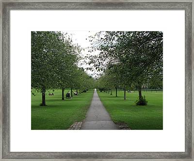 Framed Print featuring the photograph The Path Of Least Resistance by Oscar Alvarez Jr