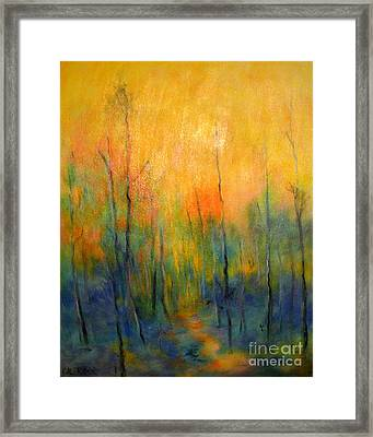 The Path To Forever Framed Print