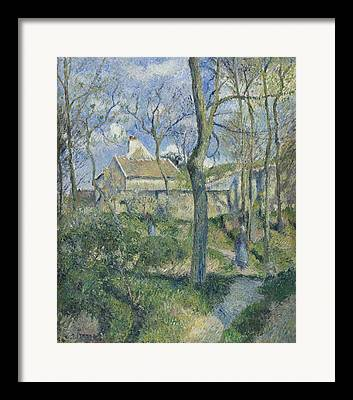 Camille Pissarro Digital Art Framed Prints