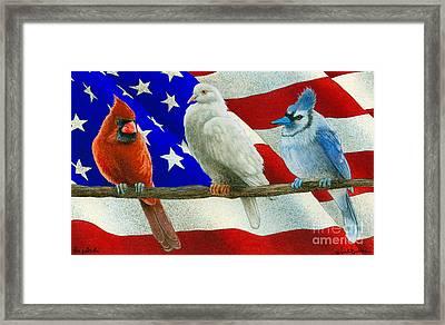 The Patriots... Framed Print by Will Bullas
