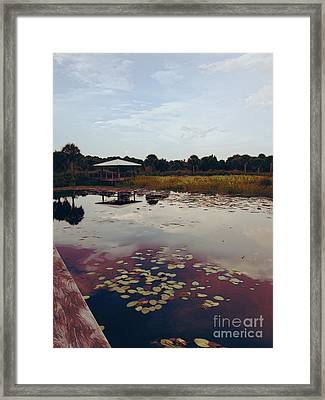 The Pavilion 2 Framed Print by K Simmons Luna