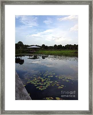 The Pavilion  Framed Print by K Simmons Luna