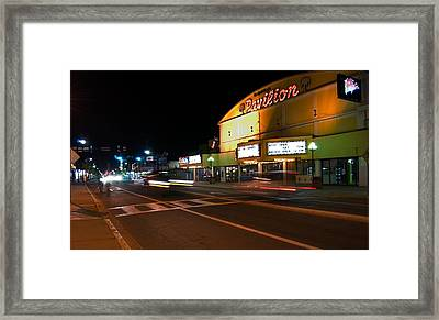 The Pavilion Myrtle Beach Framed Print