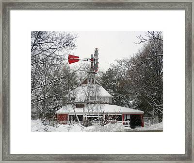 The Pavilion Framed Print