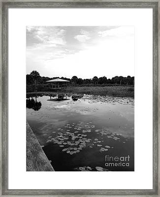 The Pavillion 3 Framed Print by K Simmons Luna