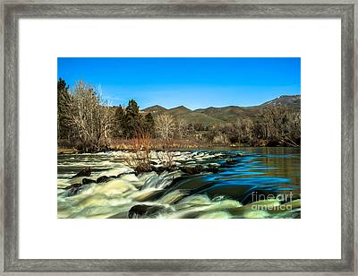 The Payette River Framed Print by Robert Bales