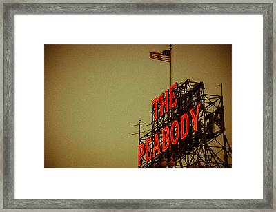The Peabody Framed Print