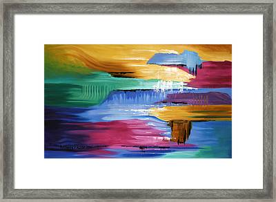 The Peace That Surpasses All Understanding Framed Print by Anthony Falbo
