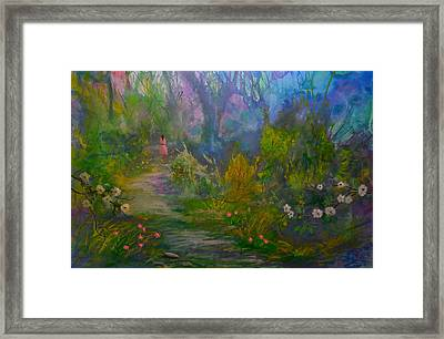 The Peaceful Path Framed Print