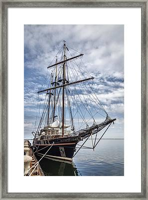The Peacemaker Tall Ship Framed Print by Dale Kincaid