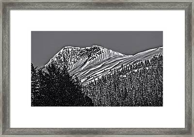 The Peak 3813007 Framed Print