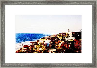 The Pearl Of Old San Juan Framed Print by Sandra Pena de Ortiz