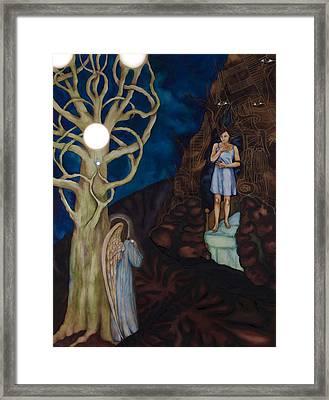 The Pearl Framed Print by Rebecca Barham