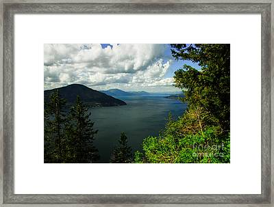 The Pend Oreille Framed Print