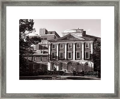 The Pennsylvania Hospital Framed Print by Olivier Le Queinec