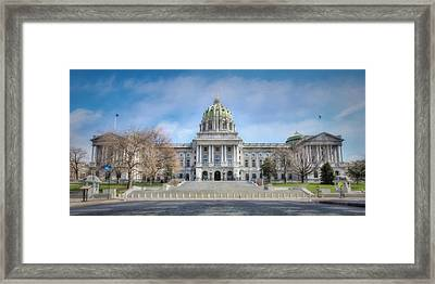 The Pennsylvania State Capitol Framed Print by Lori Deiter