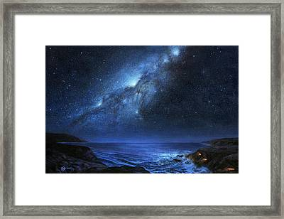 The People Of Pinnacle Point Framed Print
