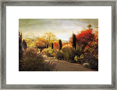The Perennial Garden Framed Print