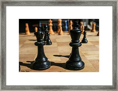 The Perfect Couple Framed Print by Steven  Taylor
