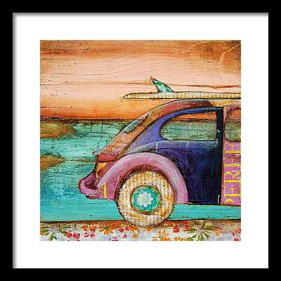 Vintage Car Framed Prints