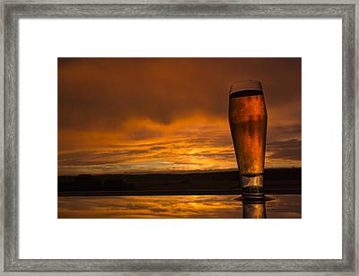The Perfect German Beerset Framed Print