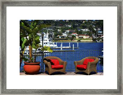 The Perfect Setting Framed Print