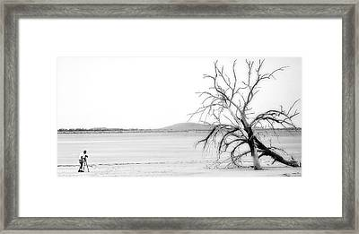 The Perfect Shot Framed Print