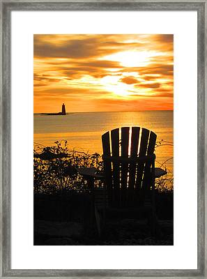 New Castle New Hampshire  Framed Print
