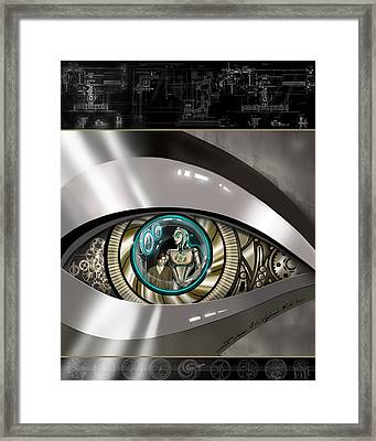 The Perfect Telescope Framed Print