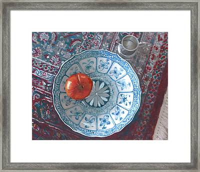 The Perfect Tomato Framed Print