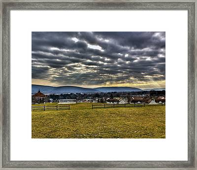 The Perfect View Framed Print by Tim Buisman