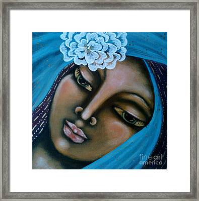 The Perfected Soul Framed Print by Maya Telford