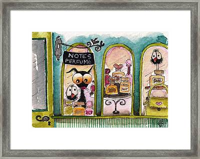 The Perfume Store Framed Print