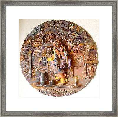 The Persecution Dance Framed Print by Gary Wilson