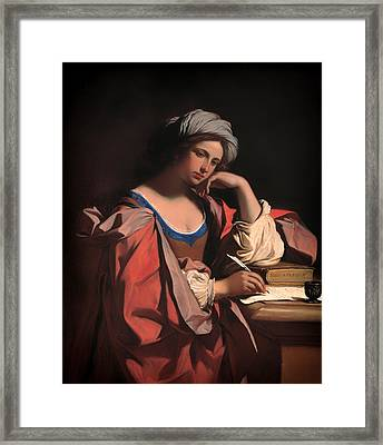 The Persian Sibyl Framed Print by Mountain Dreams
