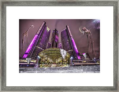 The Persistence Of Time Framed Print by Nicholas  Grunas