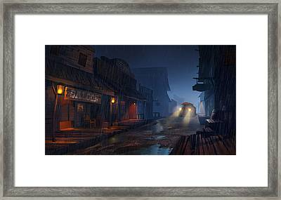 The Phantom 309 Framed Print by Kristina Vardazaryan