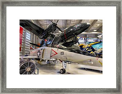 The Phantom And The Turtle Framed Print by Tim Stanley