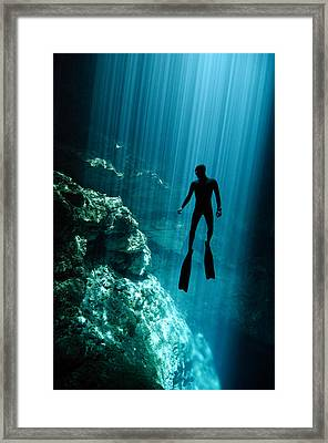 The Phantom Framed Print