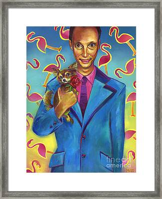 The Pharaoh Of Filth Framed Print by Robert Phelps