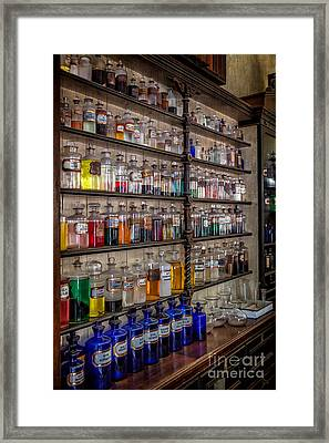 The Pharmacy Framed Print by Adrian Evans