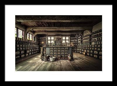 Drawers Photographs Framed Prints