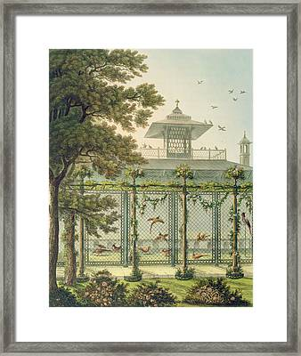 The Pheasantry Framed Print by Humphry Repton