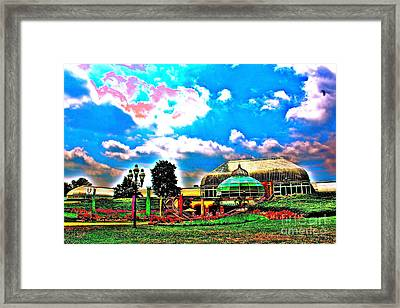The Phipps Conservatory Framed Print