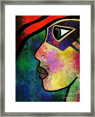 The Phoenix  Framed Print by Angelica Smith Bill